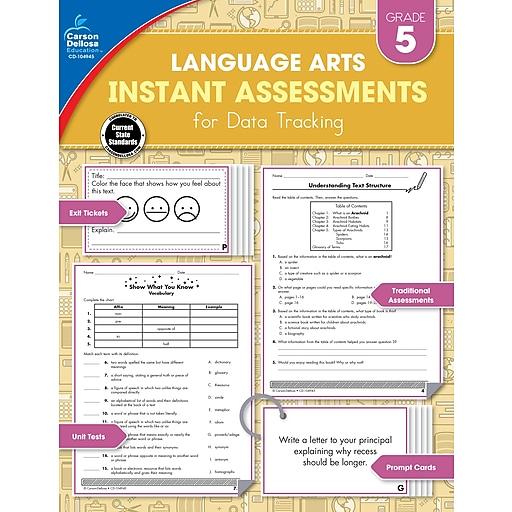 Instant Assessments for Data Tracking, Grade 5 Paperback (104945)