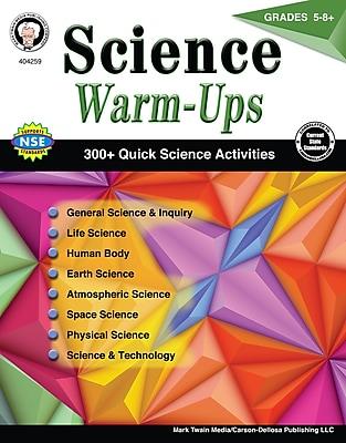 Science Warm-Ups, Grades 5 - 8 Paperback (404259)