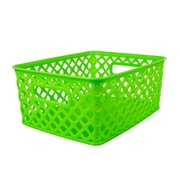 Romanoff Woven Basket, Small, Lime, Set of 3 (ROM74015)