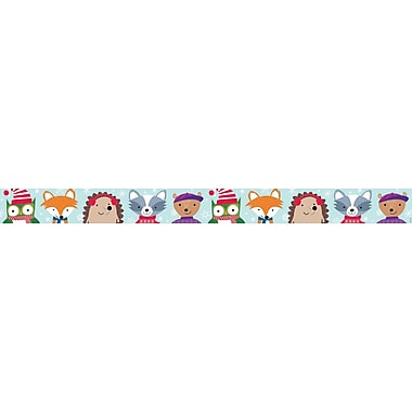 Creative Teaching Press (CTP6809) Woodland Friends Border 35'L x 3