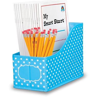 Teacher Created Resource Aqua Polka Dots Book Bin (TCR20786)