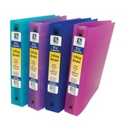 "C-Line 3-Ring Binder, Assorted, 1.5"", 6/Set (CLI31720)"