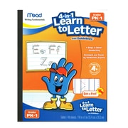 """Mead 4-in-1 Learn to Letter with Guidelines, 10"""" x 8"""", 40 sheets (MEA48112)"""