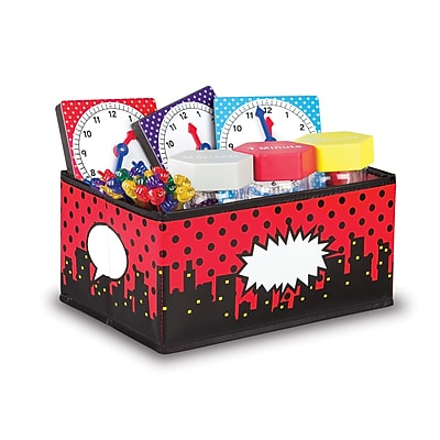 Teacher Created Resources Superhero Storage Bins - Small (TCR20767)