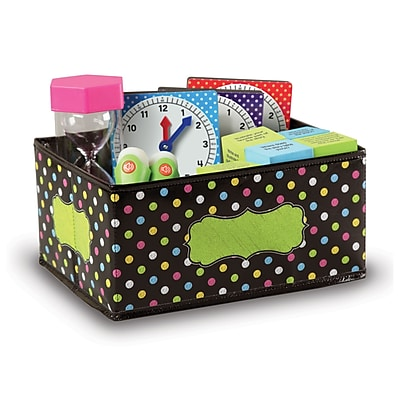 Teacher Created Resources Chalkboard Brights Storage Bins - Small (TCR20764)