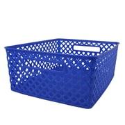 Romanoff Woven Basket, Medium, Blue, Set of 3 (ROM74104)