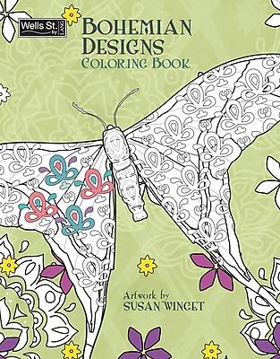 Perfect Timing Bohemian Designs Coloring Coloring Book (6093001)