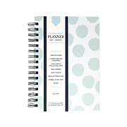"Undated Kahootie Co. 6"" x 9"" Planner, It's That Kinda Day, Teal Polka Dots (ITKDTPD-H)"