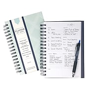 "Undated Kahootie Co. 6"" x 9"" Planner, It's That Kinda Day, Teal Diamond (ITKDTD-H)"