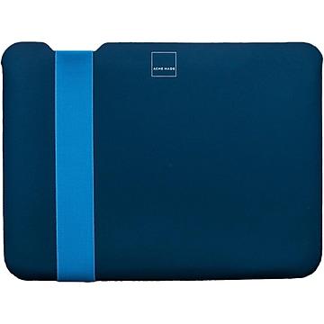 Acme Made Skinny StretchShell Neoprene Laptop Sleeve for 13.3  Laptops, Navy/Cobalt (AM10361)