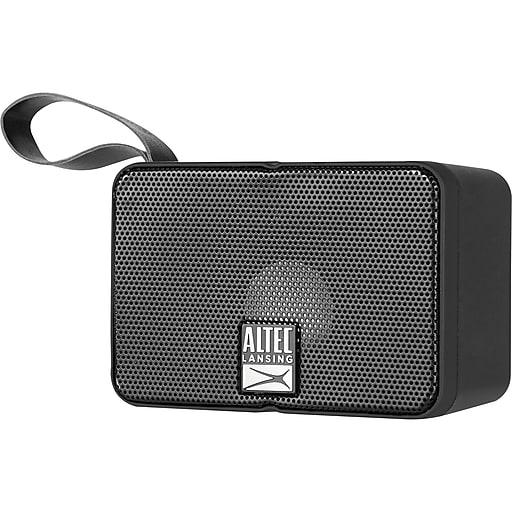 Altec Solo Motion IMW120-BLK Bluetooth Speaker, Black