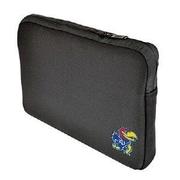Samsill® Altego™ Black/University of Kansas Embroidered Logo Neoprene Laptop Sleeve (36511)
