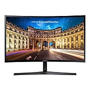 "Samsung LC24F396FHNXZA 24"" LCD Monitor, High Glossy Black"
