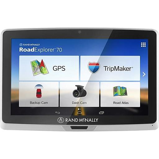 Rand Mcnally Gps >> Rand Mcnally 052801238x Road Explorer 70 7 Portable Gps Gray Black
