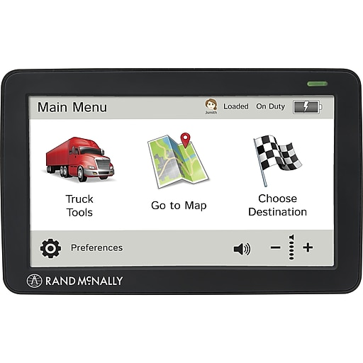 Rand Mcnally Gps >> Rand Mcnally 528011715 Intelliroute Tnd 730 Lm 7 Portable Truck Gps Black