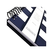 "Undated Kahootie Co. 8"" x 10"" Planner, It's That Kinda Day, Navy Stripe (ITKLWNS-H)"