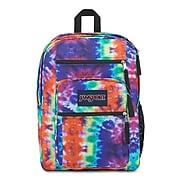 JanSport Big Student Backpack, Artwork, Red Multi Hippie Days (JS0A47JK9TC)