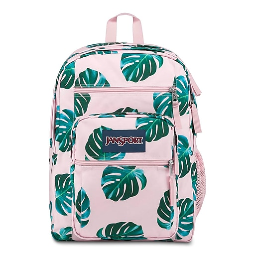 JanSport Big Student Backpack, Monstera Leaves (JS0A47JK58Q)