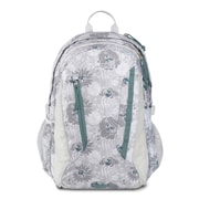 JanSport Women's Agave Backpack, Sleet Silver Vines (JS00T70L5V7)