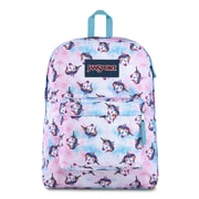 JanSport SuperBreak Backpack, Unicorn Clouds (JS00T5015J7)