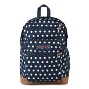 JanSport Cool Student Backpack, Dark Denim Polka Dot (JS0A2SDD5U6)