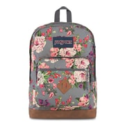 JanSport City View Backpack, Grey Bouquet (JS0A3P3U5U4)