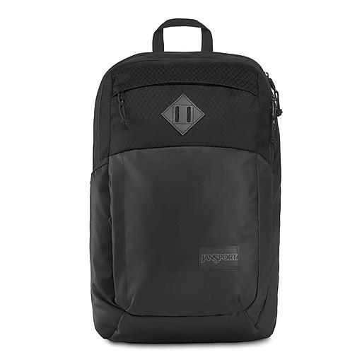 JanSport Freemont Backpack, Black Matte Coated 600D (JS0A3P1961E)