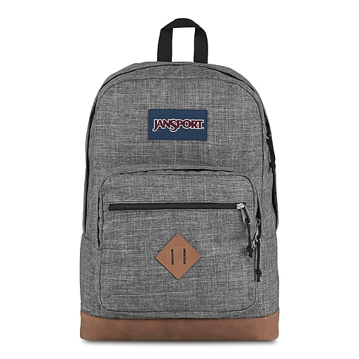JanSport City View Backpack, Heathered 600D (JS0A3P3U5B1)