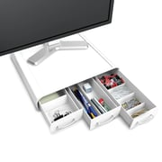 Mind Reader Perch PC, Laptop, iMac Monitor Stand And Desk Organizer