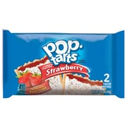 Kellog's Pop-Tarts, Frosted Strawberry, 3.67 oz., 6/Box (31732)