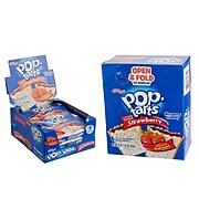 Kellog's Pop-Tarts, Frosted Strawberry, 3.67 oz., 6/Box (31732)