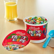 Froot Loops Cereal, Fruit Mix, 1.5 oz., 6/Box (KEE12465)