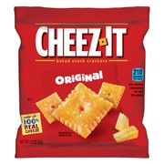 Sunshine Cheez-It Crackers, 1.5oz Single-Serving Snack Pack, 8/Box (KEB12233)