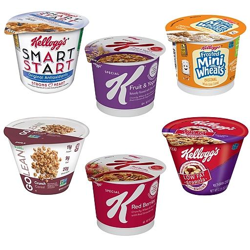Kellogg's® Classic Assorted Wellness Cereal, 2.2 oz., 60/Carton (5X0404)