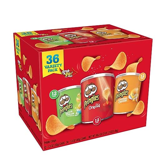 Pringles Pringles Variety Pack 1 6 lbs  (220-00407)