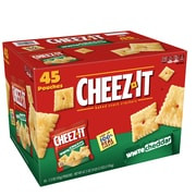 Cheez-It Crackers, White Cheddar, 1.5 oz., 45/Carton (10893)