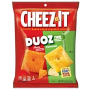 Cheez-It Duoz Cheese Cracker, Sharp Cheddar & Parmesan, 4.3 oz., 6/Carton (KEE57728)
