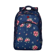 "Wenger Upload 16"" Laptop Backpack, Navy Floral Print (606890)"