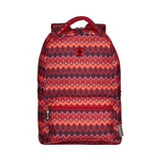 "Wenger Colleague 16"" Laptop Backpack, Red Tribal Print (606889)"