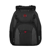 "Wenger Sherpa 16"" Laptop Backpack, Black/Grey (600753)"