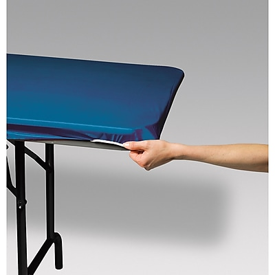 Creative Converting Stay Put Tablecover Royal Blue, 29