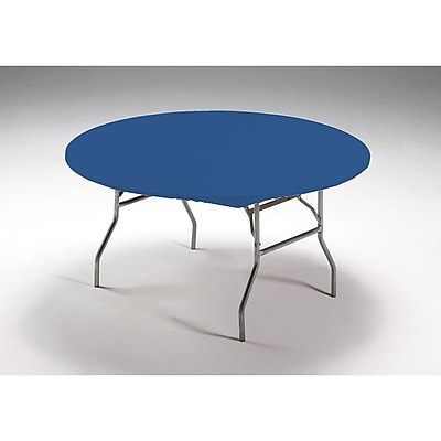 Creative Converting Stay Put Tablecover Royal Blue, 60