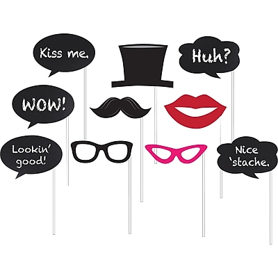 Creative Converting Chalkboard Photo Booth Props 10