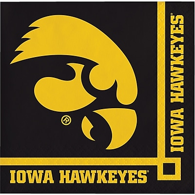 Creative Converting University of Iowa Beverage Napkins 20 pk (659900)