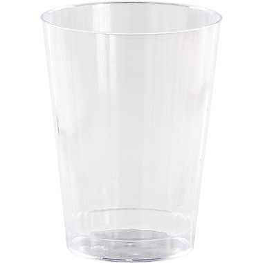 Creative Converting Clear Plastic Old Fashioned Glasses, 12 oz 8 pk (44550)