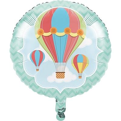 Creative Converting Up, Up, and Away Hot Air Balloon Mylar Balloon (315324)