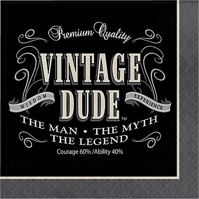 Creative Converting Vintage Dude Napkins 16 pk (665567)