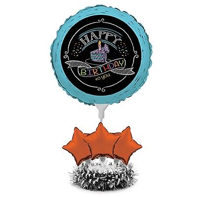 Creative Converting Chalk Birthday Balloon Centerpiece Kit (040691)