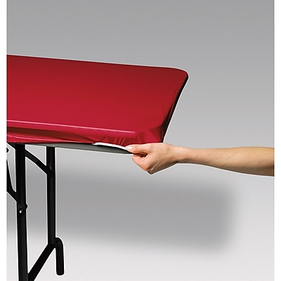 Creative Converting Stay Put Tablecover Red, 29