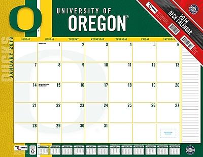 Oregon Ducks 2018 22X17 Desk Calendar (18998061495)